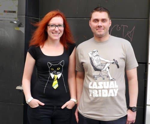 Kater Likoli Fun & Designer T-Shirts