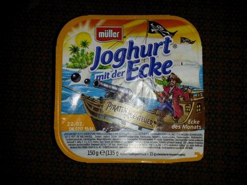 Müller Joghurt mit der Ecke Piraten Abenteuer